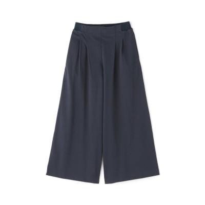 ≪Japan Couture≫ハイゲージ裏毛パンツ ネイビー