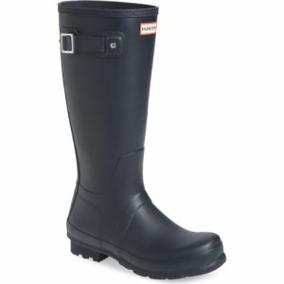 ハンター HUNTER メンズ レインシューズ・長靴 シューズ・靴 Original Tall Rain Boot Navy