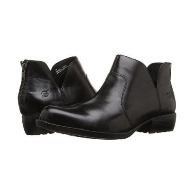 Born ボーン レディース 女性用 シューズ 靴 ブーツ アンクルブーツ ショート Kerri - Black Full Grain Leather