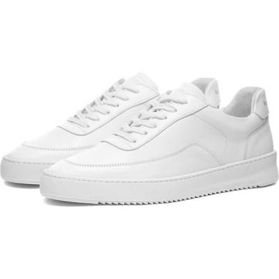 フィリング ピース Filling Pieces メンズ スニーカー シューズ・靴 mondo 2.0 ripple nappa sneaker White