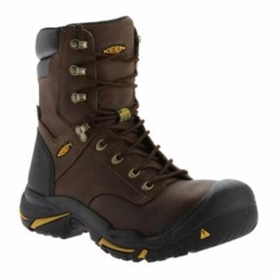 キーン レインシューズ・長靴 Mt Vernon 8 Work Boot Cascade Brown/Inca Gold