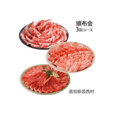 【定期便】南国土佐の肉尽くし3ヶ月コース