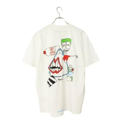 クロムハーツ Chrome Hearts PPO RETRO CYCLE T-SHRT サイズ:XL MATTY BOYバックプリントTシャツ 中古 OM10