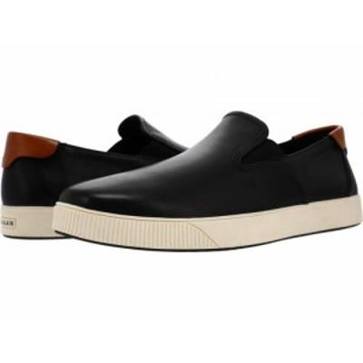 Cole Haan コールハーン メンズ 男性用 シューズ 靴 スニーカー 運動靴 Nantucket 2.0 Slip-On Sneaker Black【送料無料】