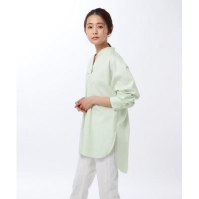 UNTITLED(アンタイトル) 【洗える・UVカット・接触冷感】エステネージュブロードチュニックシャツ