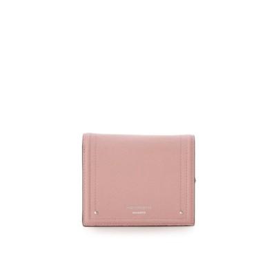アンドシュエット & chouette 新型シンプル折財布 (ピンク)