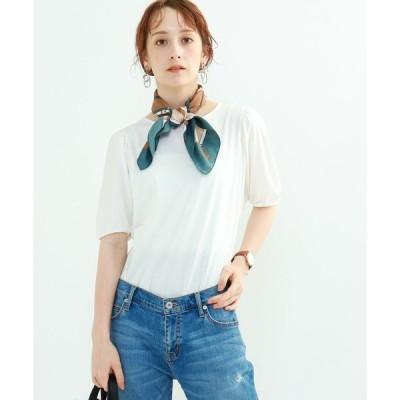 tシャツ Tシャツ [S]【ハンドウォッシュ】ボリュームスリーブカットソー
