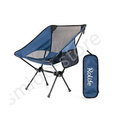 新品未使用!!送料無料!!Rolife キャンプ折りたたみ椅子 ポータブル コンパクト 超軽量 アウトドア家具 バ