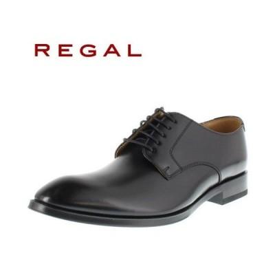 リーガル 靴 REGAL メンズ ビジネスシューズ 810R AL ブラック プレーントゥ 外羽根式 紳士靴 日本製 2E 本革