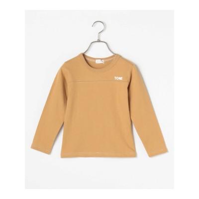 【b-ROOM】ロゴプリントTシャツ