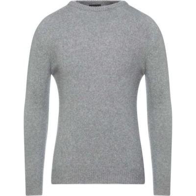 ルカ バーテリ LUCA BERTELLI メンズ ニット・セーター トップス Sweater Light grey