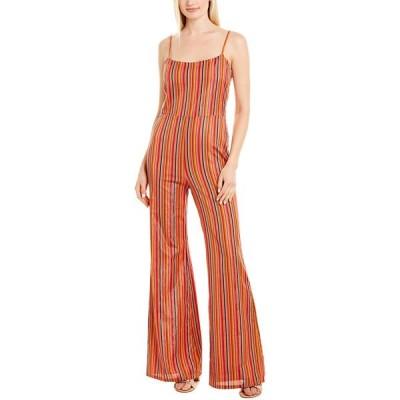 ジュリーブラウン ワンピース トップス レディース Julie Brown Zena Jumpsuit candy cruise stripe
