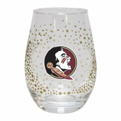 The Memory Company ザ メモリー カンパニー スポーツ用品  Florida State Seminoles Glitter Stemless Tumbler