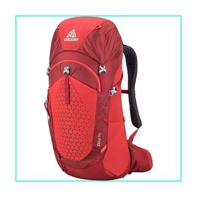 【新品】Gregory Zulu 35 SM/MD Hiking Pack (Fiery Red)(並行輸入品)