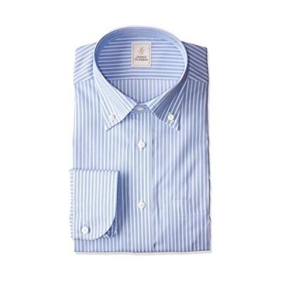 [ヤマキ] JAMES GORDON メンズワイシャツ 綿100% 長袖 形態安定加工 6柄 GJD603 450-ボタンダウン M(39-82) (日本サイズM相?