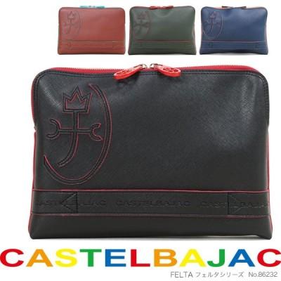 クラッチバッグ セカンドバッグ メンズ CASTELBAJAC カステルバジャック フェルタシリーズ 2way A4未満 横型 軽量 メンズバッグ バッグ