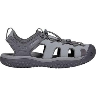 キーン メンズ サンダル シューズ SOLR Sandal Steel Grey/Magnet
