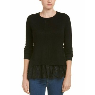 Autumn Cashmere オータムカシミア ファッション トップス Autumn Cashmere Cashmere Sweater S Black