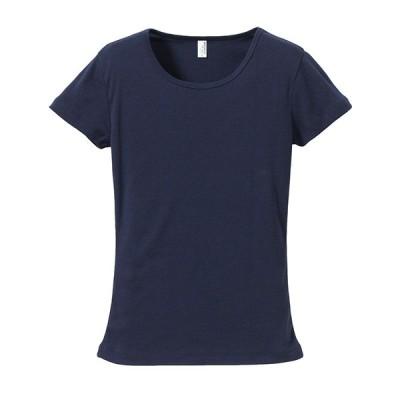 Tシャツ レディース 半そで 丸首 厚手 6.2オンス 無地 クルーネック