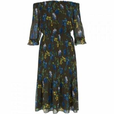 ホイッスルズ Whistles レディース ワンピース ワンピース・ドレス Penelope Off Shoulder Dress Green