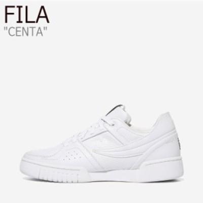 フィラ スニーカー FILA メンズ CENTA センタ WHITE ホワイト 1TM00624-125 シューズ