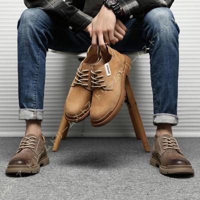 ブーツ メンズ メンズブーツ ローカット ショートブーツ ワークブーツ マウンテンブーツ 多機能 滑り止め スニーカー ビジネス 通勤 おしゃれ シンプル 黒