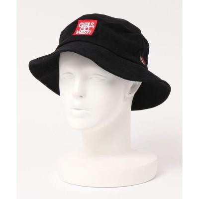 帽子 ハット [FRUIT OF THE LOOM / フルーツ オブ ザ ルーム ] FTL ANM CORDUROY BUCKET HAT / ハ