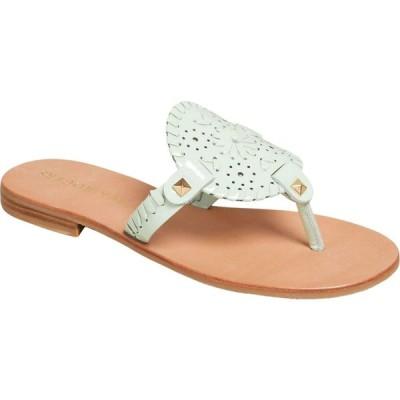 ジャックロジャース Jack Rogers レディース サンダル・ミュール シューズ・靴 Georgica Patent Sandal Mint