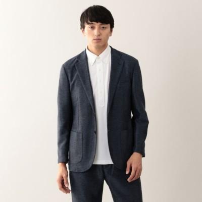 【EASY DRESSING】杢カラミ 2パッチジャケット
