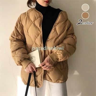 中綿コートレディースダウンコートジャケット綿入れショート丈アウター厚手通勤韓国風ダウンジャケット防風防寒暖かい大きいサイズ30代40代50代