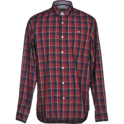 ナパピリ NAPAPIJRI メンズ シャツ トップス checked shirt Maroon