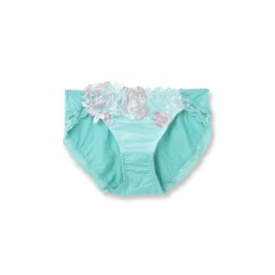 フランデランジェリー fran de lingerie GRACEFioraグレースフィオラコーディネートショーツ (ミント)【返品不可商品】