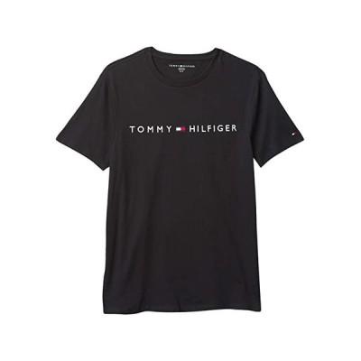 (取寄)トミー ヒルフィガー メンズ ロック アップ ティー Tommy Hilfiger Men's Lock Up Tee Deep Knit Black