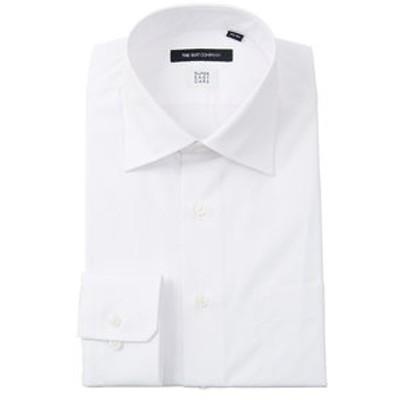 【SUPER EASY CARE】ワイドカラードレスシャツ 無地 〔EC・BASIC〕