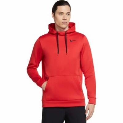 ナイキ Nike メンズ トップス Therma Hooded Pullover University Red/Black