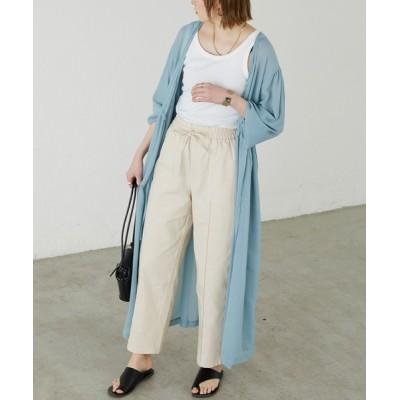 BONLECILL / リネンライク センタータックイージーパンツ WOMEN パンツ > スラックス