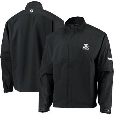 メンズ ジャケット 2020 PGA Championship FootJoy Hydrolite Full-Zip Rain Jacket - Black