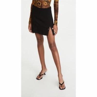ヴェルサーチ Versace レディース スカート Gonne Tessuto Nero/Black