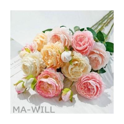 母の日 枯れない花 牡丹 造花 ギフト 結婚祝い 結婚記念日 バレンタインデー  造花 ギフト 人工観葉植物 壁掛け