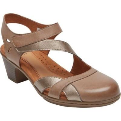ロックポート サンダル シューズ レディース Cobb Hill Kailyn Closed Toe Sandal (Women's) Khaki Multi Burnished Leather