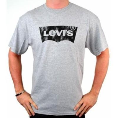 Levis リーバイス ファッション トップス NEW NWT LEVIS MENS PREMIUM CLASSIC GRAPHIC COTTON T-SHIRT SHIRT TEE GRAY