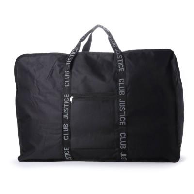 ヴィータフェリーチェ VitaFelice 収納量86L/バッカブル ボストンバッグ メンズ レディースビッグトートバッグ 折りたたみ 旅行バッグ アウトドア (BLACK)
