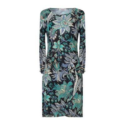 ジャッカ JUCCA ミニワンピース&ドレス ブラック 38 レーヨン 100% ミニワンピース&ドレス