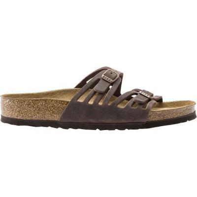 ビルケンシュトック レディース サンダル シューズ Granada Soft Footbed Leather Sandal