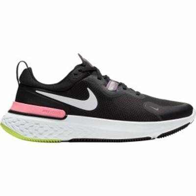 ナイキ Nike レディース ランニング・ウォーキング シューズ・靴 React Miler Running Shoe Black/Metallic Silver-Violet Dust