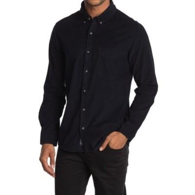 セブンダイヤモンド メンズ シャツ トップス The Darklands Corduroy Slim Fit Shirt NAV