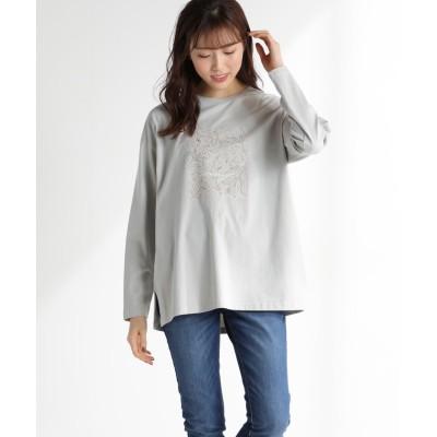 (Honeys/ハニーズ)プリントTシャツ/レディース ミント
