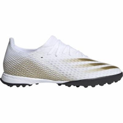 アディダス adidas メンズ サッカー シューズ・靴 X Ghosted.3 TF Ftwr White/Met Gold Melange/Core Black