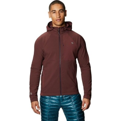 マウンテンハードウェア Mountain Hardwear メンズ フリース フード トップス keele hooded jacket Washed Raisin