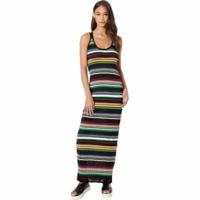 ミッソーニ M Missoni レディース ワンピース ノースリーブ ワンピース・ドレス Striped Sleeveless Long Dress Multicolor